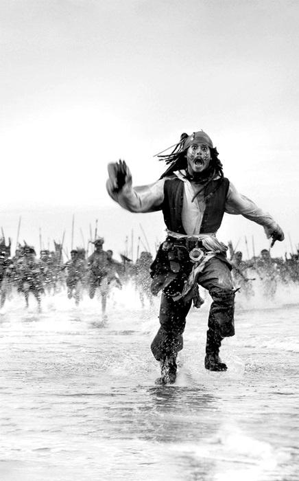 Pirates of the Caribbean - Juokse tai vuole! Jack valitsi selvästikin juokse, pitäisikö itsekin mennä lenkille?