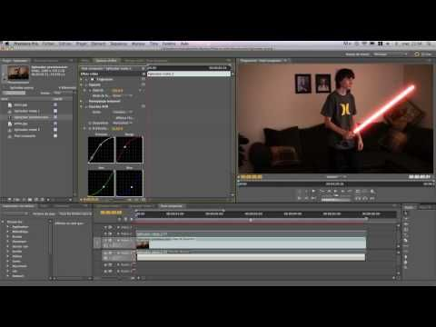 How to make realistic lightsaber effect in Adobe Premiere Pro