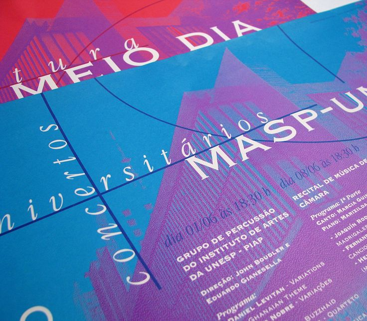 """Check out my @Behance project: """"Masp & Unesp - Posters - 1995"""" https://www.behance.net/gallery/4175315/Masp-Unesp-Posters-1995"""