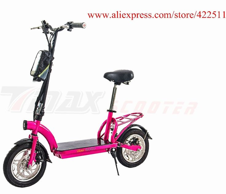 379.99$  Buy now - http://aliyo7.worldwells.pw/go.php?t=32694462456 - 2016  New 300W 36V Hub-motor Electric Scooter/Bicycle 10AH Lithium Battery 2 Wheel Foldable Electric Scooter with Seat