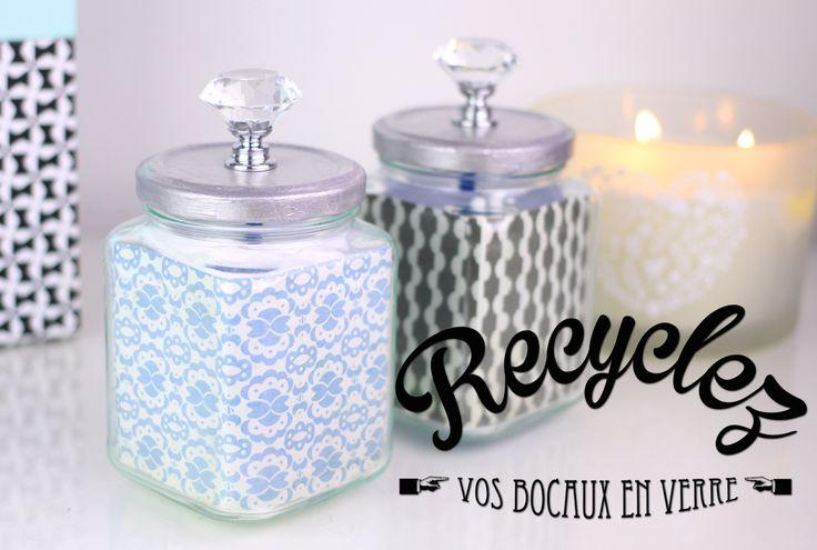 DIY : Recyclez vos bocaux en verre pour une deco tendance