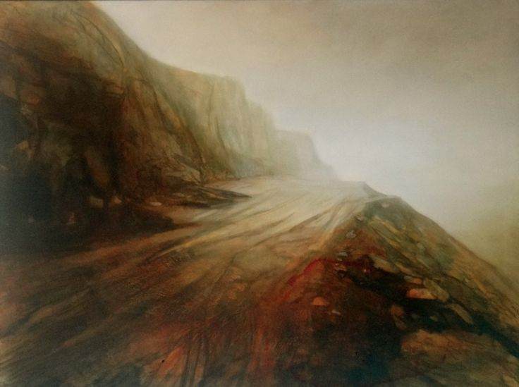 into the mystic oil on canvas 90x 120 cm from the upcoming 'stillness' series www.niebuhr.co.za