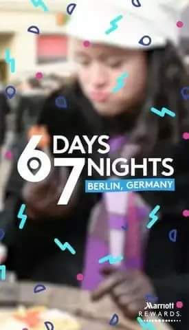 "Marriott Rewards Premieres Season One of ""Six Days, Seven Nights,"" the First Original Snapchat Video Series From the Travel Industry   BET..."