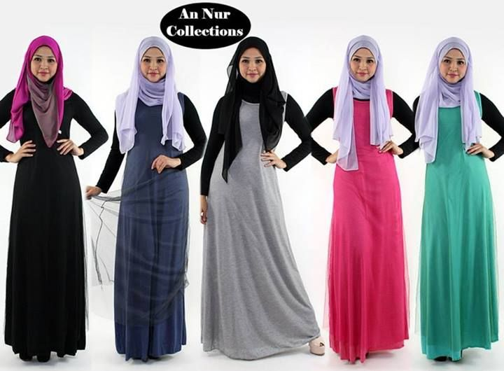 Model: Sarah Maxi Dress  Code: U055  Colors available: Black, Blue, Grey, Pink, Turquoise  Material: Cotton  Size: S, M (UK, 8, 10) (Aus. 10, 12)  *Dress length 140cm (55.11 inches) (4.59 feet)  *It can be wear with the net or without it  *Inner is not include it  Price: Price: RM59 / S$24.03 / US$19.46 / €14.91 / C$19.85 / A$18.86 / £12.68  Terms & Conditions: https://www.facebook.com/notes/an-nur-collections/terms-conditions/379084078816636