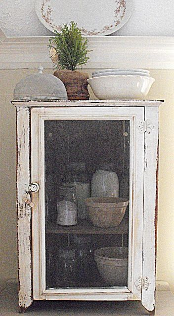 Rustic Farmhouse Pie Safe