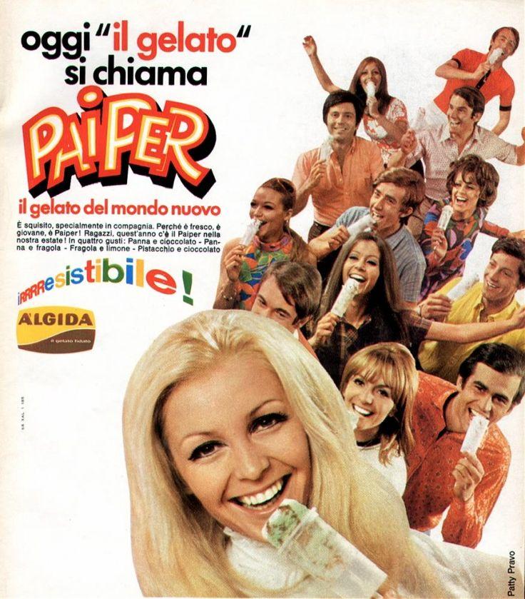 PUBBLICITA' SU RIVISTE: PAIPER ALGIDA