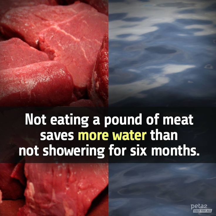 save water by going #vegan #vegetarian