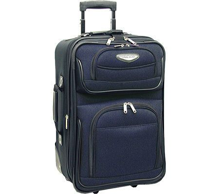 "Traveler's Choice Amsterdam 21"" Expandable Rolling Carry On #TravelersChoice"