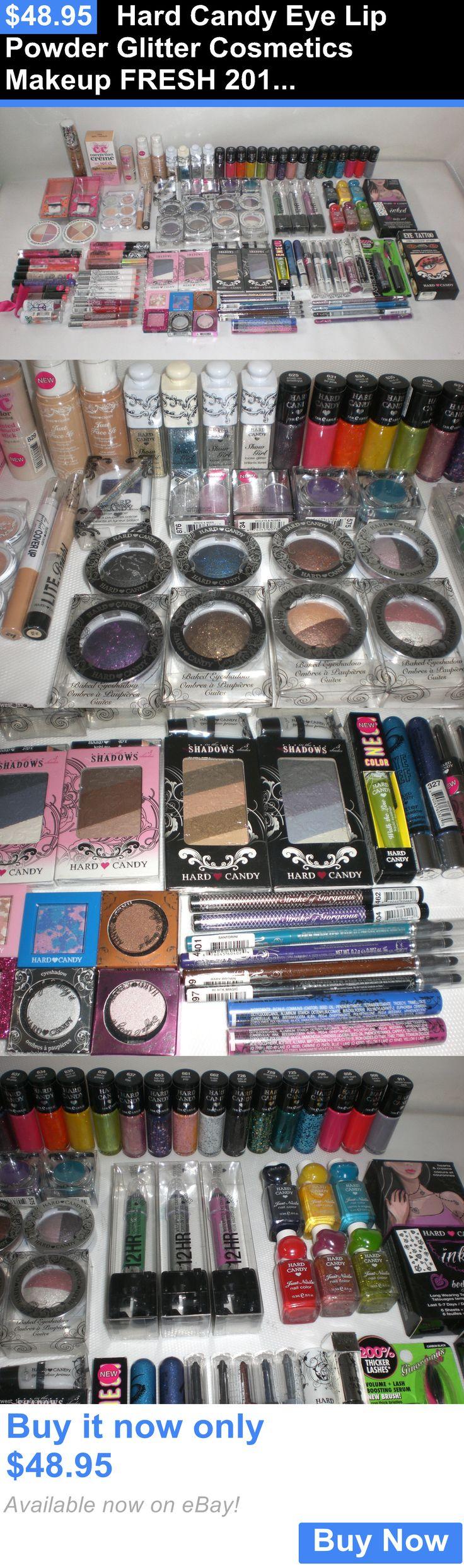 wholesale Makeup: Hard Candy Eye Lip Powder Glitter Cosmetics Makeup Fresh 2016 Wholesale Lot 50 BUY IT NOW ONLY: $48.95