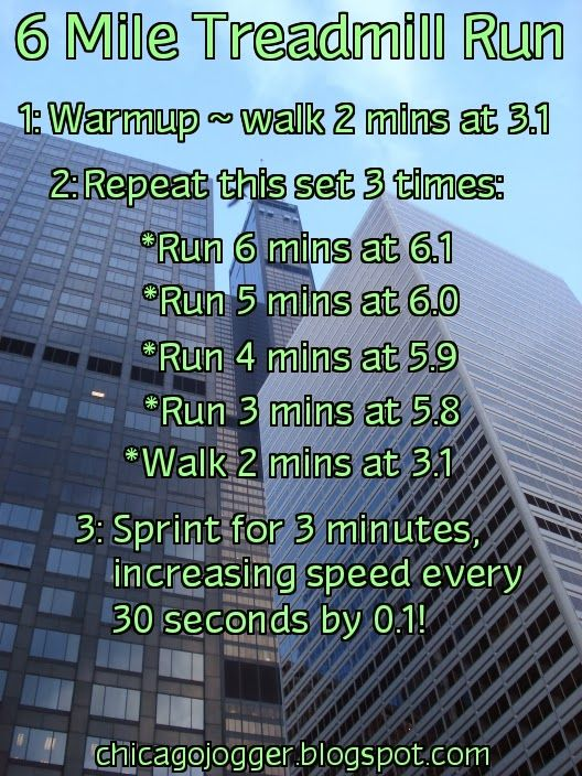Week 8 Challenge Update + 6 Mile Treadmill Run | chicagojogger.blogspot.com