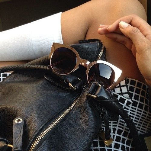 bags and shades
