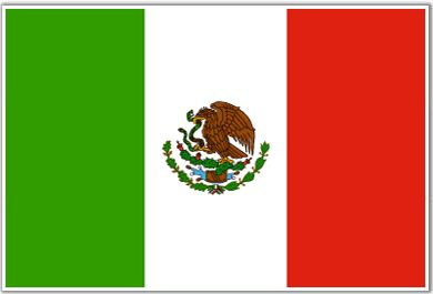 Drapeau de Mexique (#Flag of #Mexico)