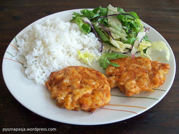 Kotleciki drobiowe z cebulką i serem | Pyszna Pasja