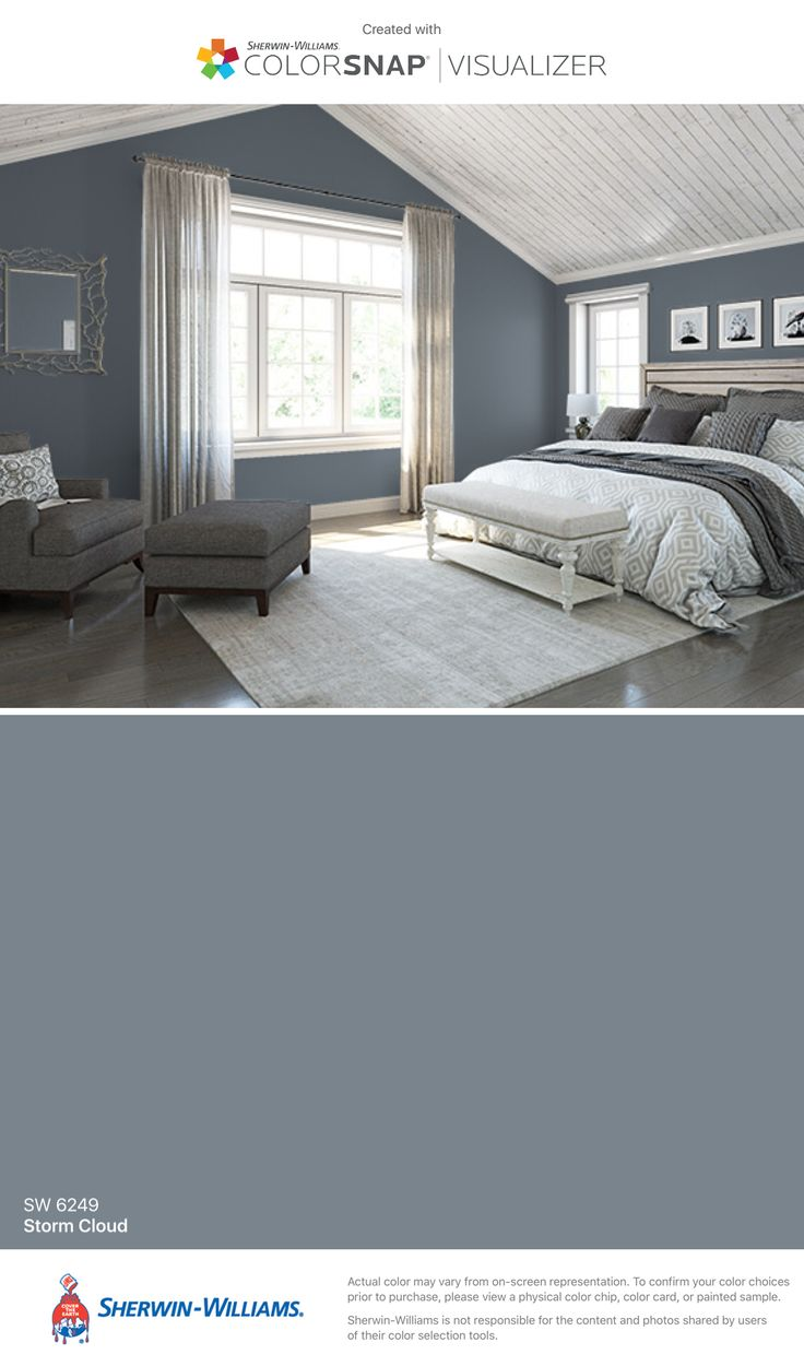 Sherwin williams paint colors sherwin williams 6249 storm cloud - I Found This Color With Colorsnap Visualizer For Iphone By Sherwin Williams Storm