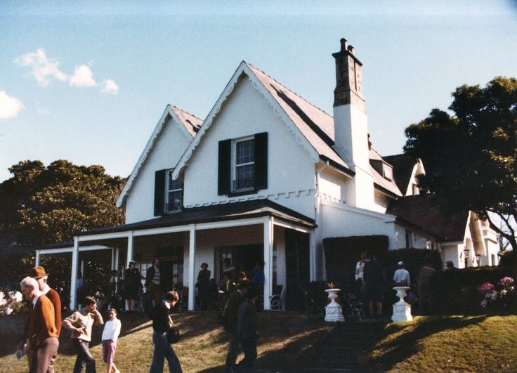 Kirribilli House in the late 1970's.