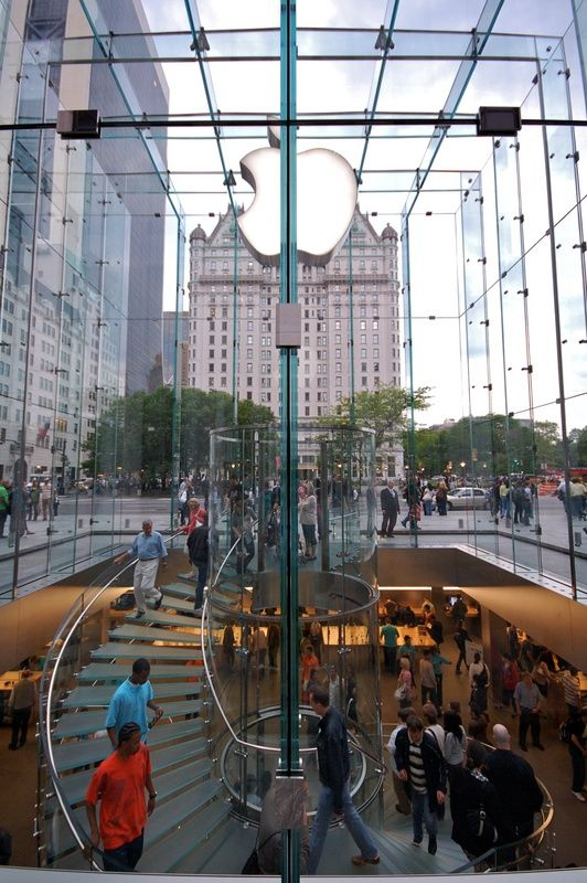 fifth ave new york stores | Apple Store on Fifth Avenue New York City