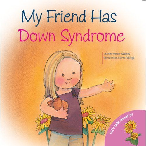 "http://lovelifeandbegentle.blogspot.com - ""What books do you recommend for grade school children to explain down syndrome and other special needs to typical children? I try to make sure we have plenty of books of all kinds in our home, but I especially enjoy those books that show inclusion and open discussions for children to learn about all people. Here are a few that we have in our library. ""My Friend Has Down Syndrome Jennifer Moore-Malinos…"