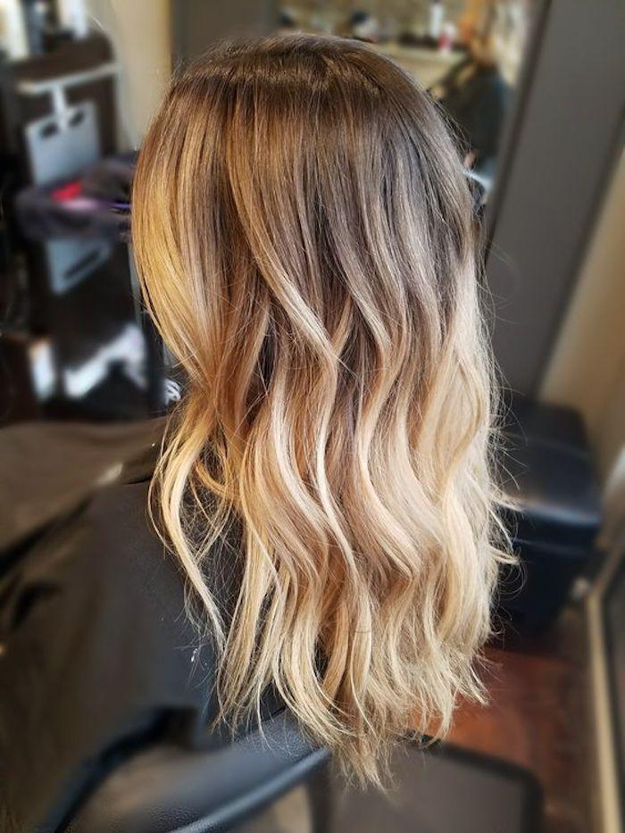 1001 Ideen Und Bilder Zum Thema Strahnchen Selber Machen Blumenkranz Haare Lange Haare Blonde Ombre Haare