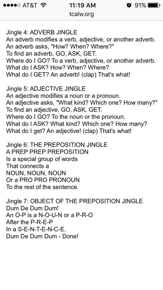 Shurley English Worksheets