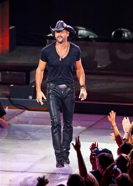 Countdown: Hottest Men in Country. Tim McGraw may be No.1 on the list for HOT.