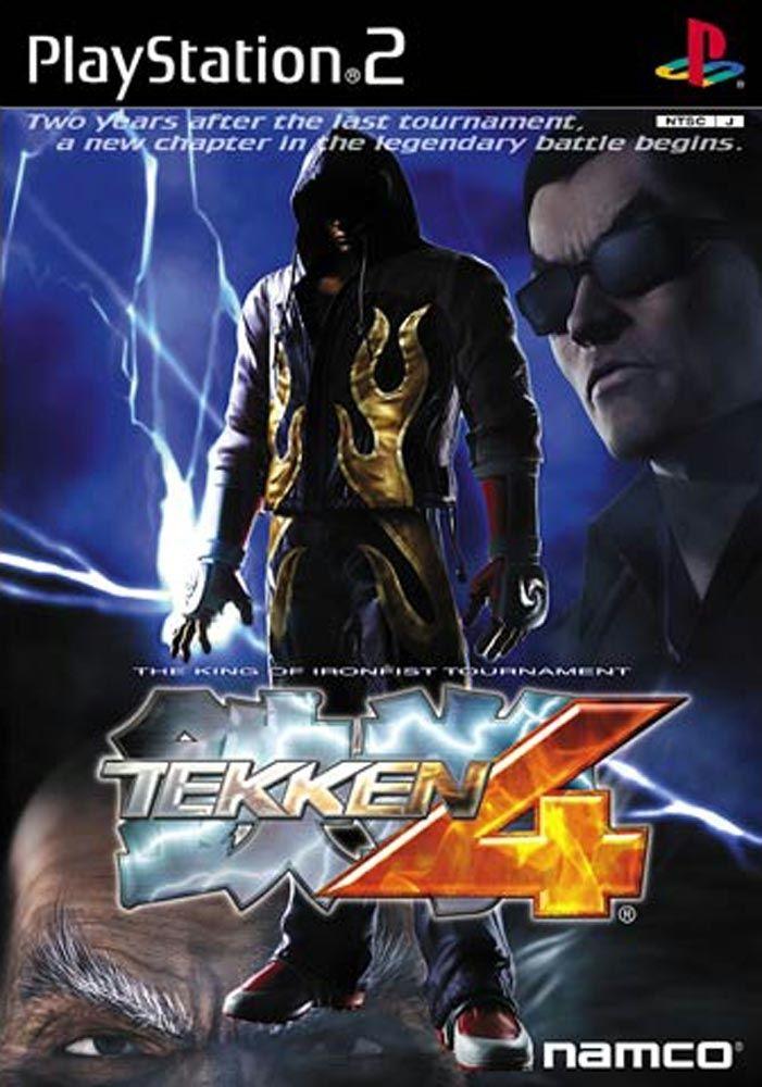 Tekken 4 Cover