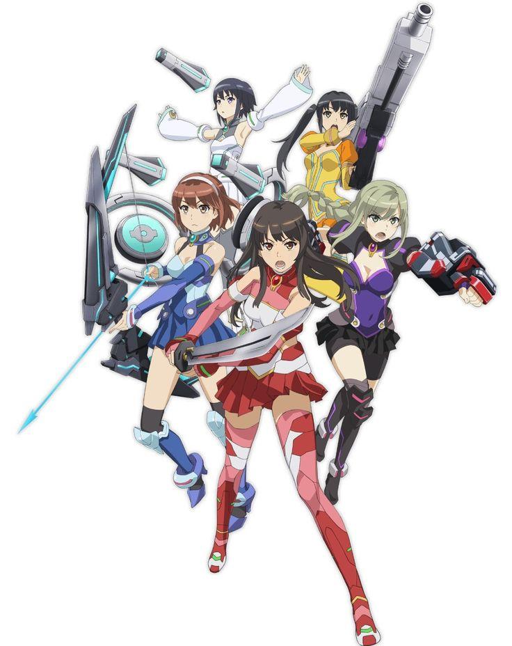 Nueva imagen promocional del Anime School Girl Strikers Animation Channel.