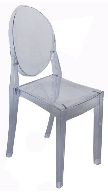 Bis Louis Replica Acrylic Dining Chair | Complete Pad