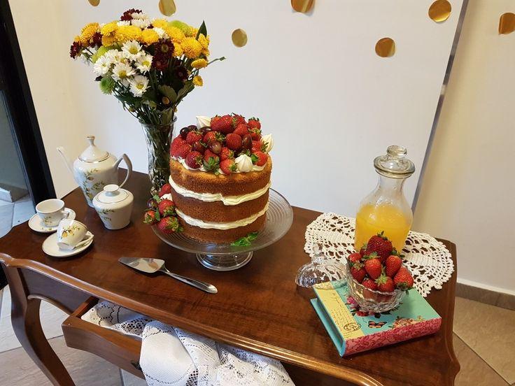 Chá de cozinha da Pri  DIY #Nakedcake