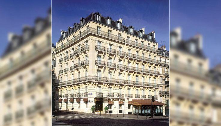 Hotel Splendid Etoile Paris **** - SITE OFFICIEL - Vue sur l'Arc de Triomphe Champs-Elysees