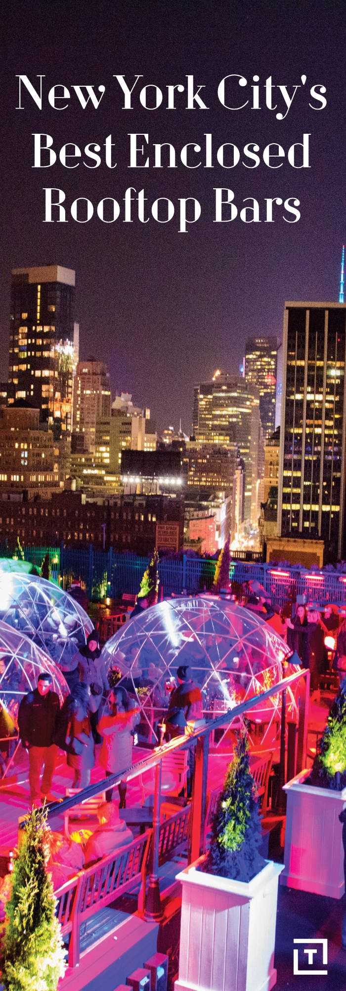 Rooftop season doesn't end with summer!  In case its cold but we still want to rooftoop