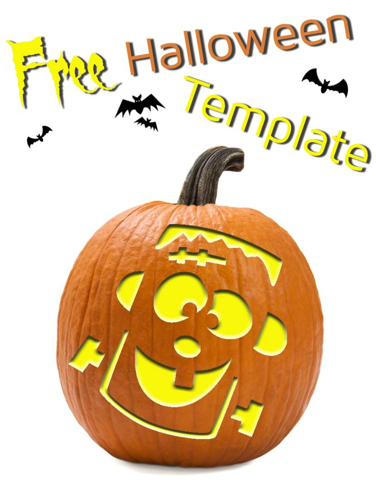 Silly Frankenstein template that's perfect for any #DIY # ...