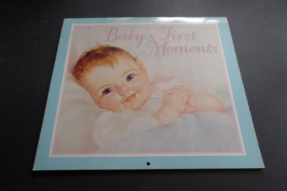 Baby S First Moments Blank 12 Month Calendar From The Picture Library In This Moment One Moment