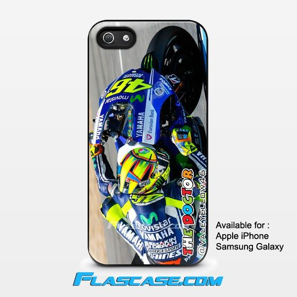Valentino Rossi in Action The Doctor Apple iPhone 4/4s 5/5s 5c 6 6 Plus Samsung Galaxy S3 S4 S5 S6 S6 EDGE Hard Case #AppleiPhoneCase #SamsungGalaxyCase