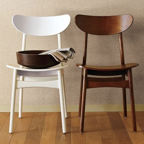 Possible kitchen chairs in white