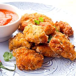 Pieczone nuggetsy z kurczaka z sosem arrabbiata   Kwestia Smaku