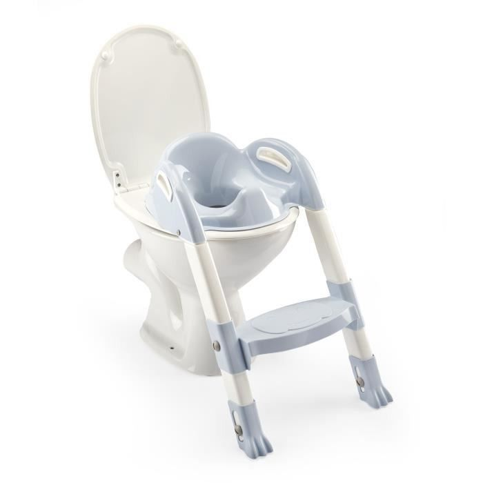 Thermobaby Reducteur De Wc Kiddyloo Fleur Bleue En 2020 Toilette Bebe Gris Galet Lunette Wc