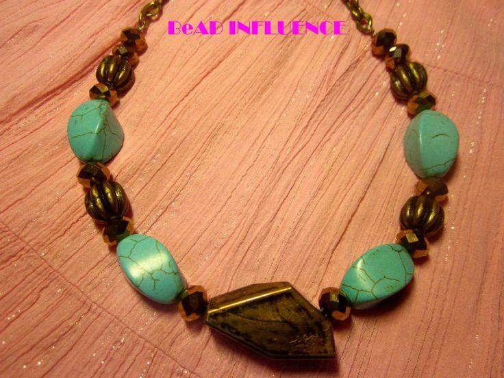 Simple Victorian #beads #beadinfluence #mycraft #necklaces # diy