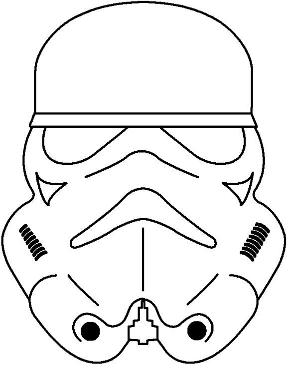 Stormtrooper Coloring Page