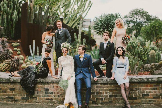 Glam Garden Party Wedding: Emily + Ed – Part 2  www.larahotz.com
