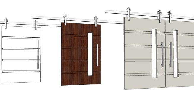 portas de correr - 3D Warehouse