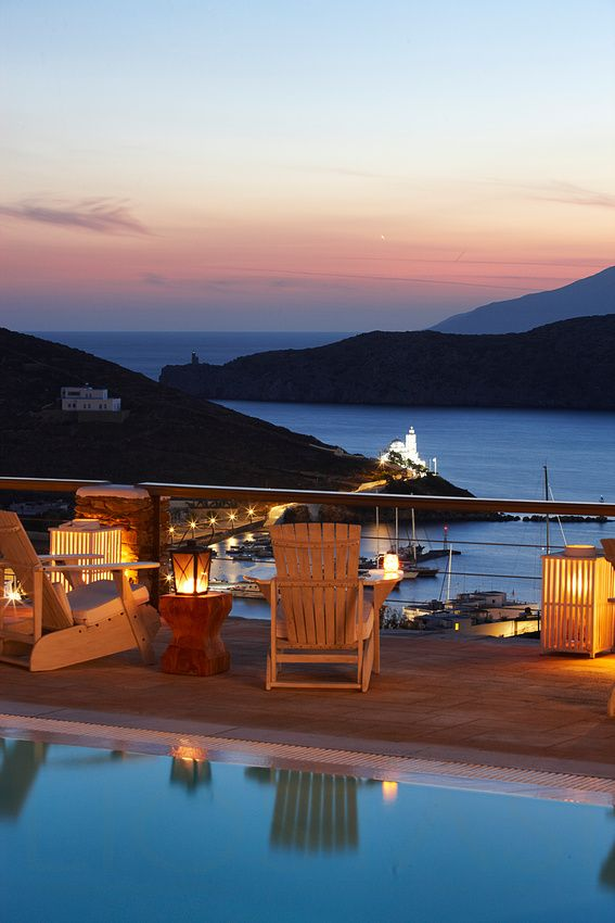 Sunset in Ios, Cyclades, Greece