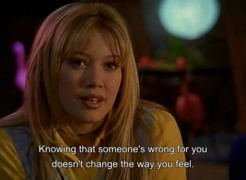 lizzie mcguire. quote. love.