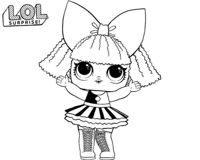 Lol Little Sister Coloring Pages Con Imagenes Dibujos Colorear