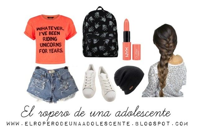 """Regreso a clases"" by desi2003 on Polyvore featuring moda, adidas y Coal"