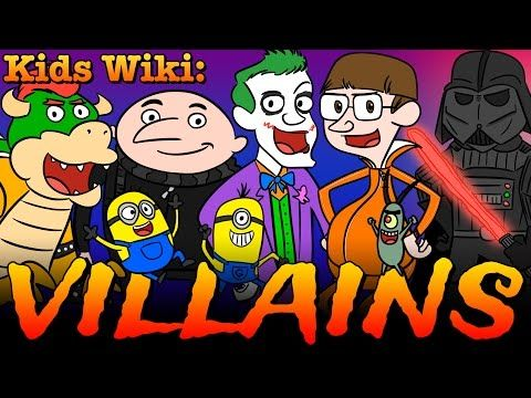 Villains + Superheroes + Super Powers + Minions & Spiderman! | Wiki for Kids at Cool School - YouTube
