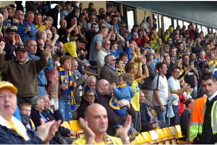 Tickets in the Family Stand for Torquay United's last home game have sold out