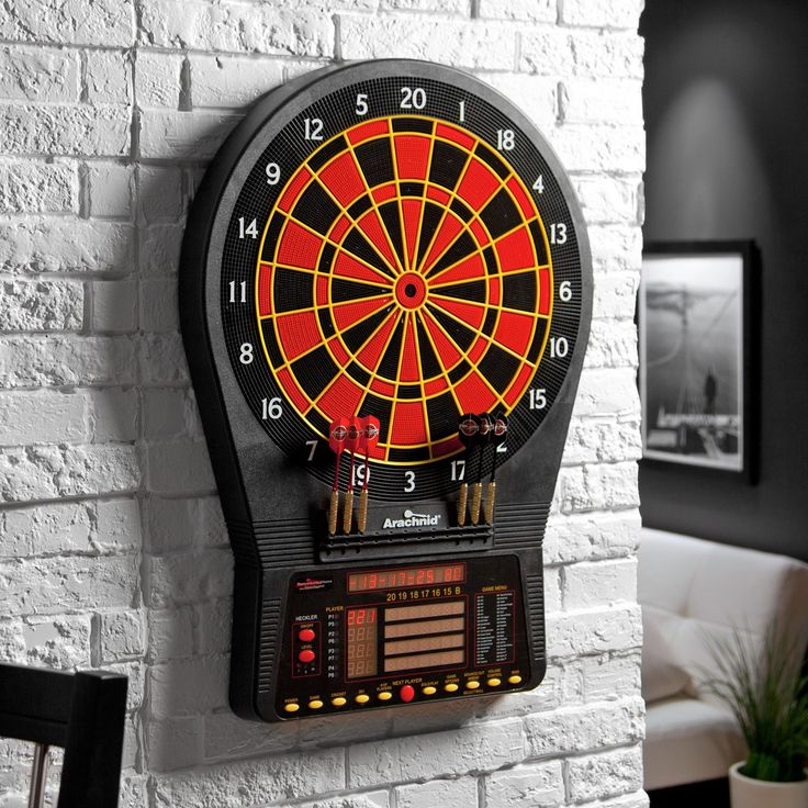 Have to have it. Arachnid® Cricket Pro 800 Electronic Dart Board with Heckler Feature - $249.99 @hayneedle
