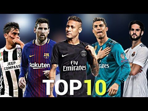 4897ede8f1237 Top 10 Skillful Players in Football 2018 - YouTube