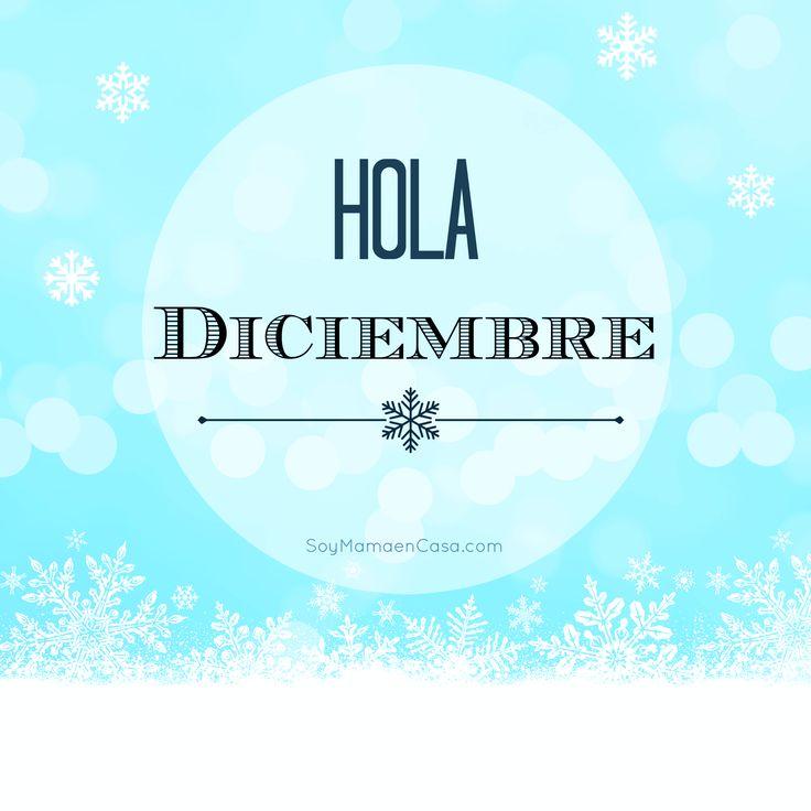 Hola #Diciembre !  Mira más imágenes y gráficos para compartir en Facebook, haciendo click