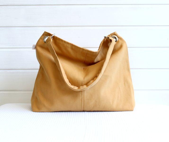 +Classy+Hobo+Bag+in+Mustard++TOP+ZIPPER+w+•+Handmade+Bags+&+Purses+&+Totes+for+Women+&+Men+na+DaWanda.com